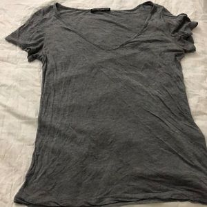 Gray tee from brandy Melville